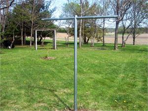 Heavy Duty T Post Clothesline Poles