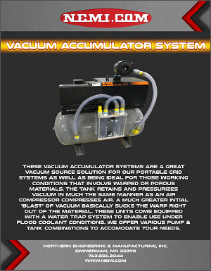 Vacuum Accumulator Flyer