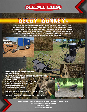 Decoy Donkey Flyer