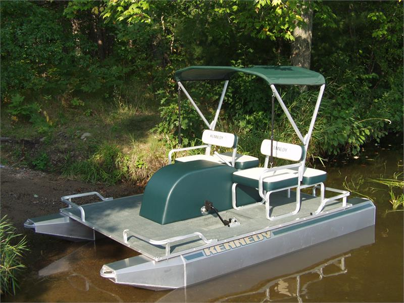 Kennedy Paddle Electric Pontoon Boats